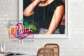 Картины на досках купить в стиле лофт Омск