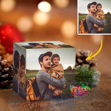 Фотокубик трансформер, купить в подарок Омск